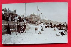 Dorset: Weymouth Sands - Children/Adults - Animated RP PC PU 1906 (P1931)
