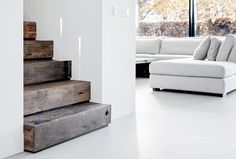 LEN architectuur | Lenny van de Sande Stairs, Table, Projects, Furniture, Home Decor, Log Projects, Stairway, Blue Prints, Decoration Home