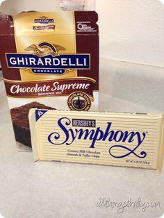 Secret Ingredient Brownies (and the secret isn't black beans - it's a Symphony bar