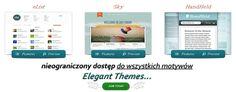 http://www.michalandrzejczak.pl/jak-skonfigurowac-elegant-themes-skorki-do-wordpressa/ Motywy wordpress Elegant Themes, szablony wordpress skórki