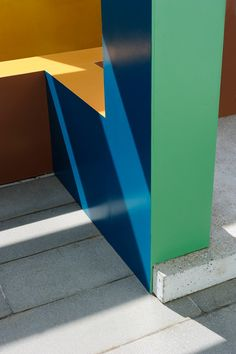 Krijn de Koning builds colourful architectural structures at Turner Contemporary