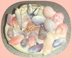 My Pastel Shells..... just in time for spring/Easter