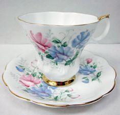 Royal Albert - Friendship Series - Series Sweetpea www.royalalbertpatterns.com