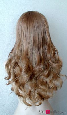 Light Brown--100% Human Hair, and now it is 20% ~25% OFF DISCOUNT!--only in #Besthairbuy shop