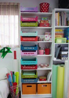 Organizacion de papeleria en casa