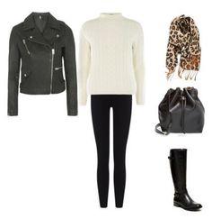 18 leather jacket - ivory sweater - leggings https://www.worldtrip-blog.com