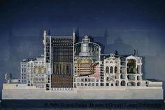 Charles Garnier,Model of the Paris Opera House, longitudinal section,© RMN-Grand Palais (Musée d'Orsay) / Jean Schormans