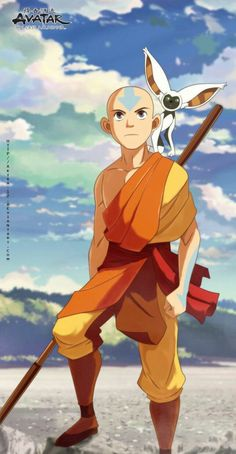 avatar : legend of aang - aang Avatar Airbender, Avatar Aang, Avatar Legend Of Aang, Avatar The Last Airbender Art, Team Avatar, Legend Of Korra, Zuko, Avatar Equipe, Avatar Picture