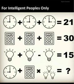 WhatsApp Puzzles with Answers: Latest Jokes, puzzles, riddles, quiz, funny pics and WhatsApp messages you can share in your groups. Logic Math, Math Quizzes, Kids Math Worksheets, Logic Puzzles, Maths Riddles, Math Problem Solving, Brain Teasers With Answers, Brain Teasers Riddles, Brain Teaser Puzzles