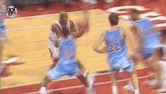 GPOMJW: The Greatest If you don't think this is Michael Jordan's single best offensive basketball play, circumstance notwithstanding, what's wrong with you? [Watch the video here] This is far more. Basketball Games Online, Basketball Moves, Basketball Videos, Basketball Funny, Jordan Basketball, Basketball Legends, Basketball Pictures, Charlotte Hornets, Michael Jordan Photos