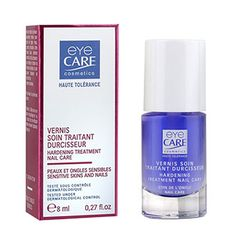 hypoallergenic hardening nail care treatment for damaged nails and cuticles, sensitive hands and skin #nickelallergy #nickelfree