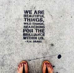Wynwood Walls, Miami, Florida - Renowned Instagram poet R.M. Drake...