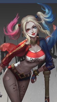 DC Harley Quinn.  For similar content follow me @jpsunshine10041