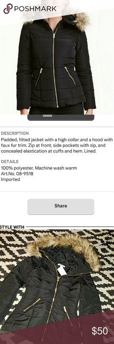 BUY 2 GET 1 FREE! H & M PADDED JACKET NWT. details in picture. - Reasonable Offers welcome 😊 H&M Jackets & Coats
