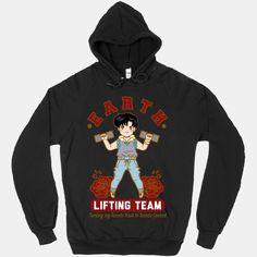 Earth Lifting Team | T-Shirts, Tank Tops, Sweatshirts and Hoodies | HUMAN