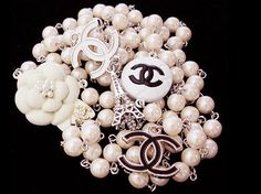 Chanel Chanel Chanel Dear Santa, what about a chanel necklace AND a Juicy Couture bracelet?