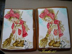 maľované medovníčky...