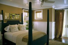 HGTV Green Home 2008 - Like the wainscot and the bed