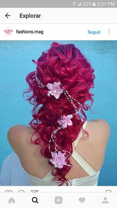 This is one of the gorgeous  hairstyles I've seen in a long time