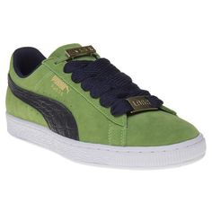 Mens Green Puma Suede Classic Bboy Fabulous Trainers at Soletrader 67e679a87