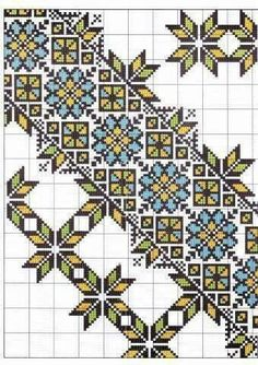 Beading _ Pattern - Motif / Earrings / Band ___ Square Sttich or Bead Loomwork ___ Russian Embroidery, Crewel Embroidery, Cross Stitch Embroidery, Embroidery Patterns, Cross Stitch Patterns, Cross Stitch Geometric, Palestinian Embroidery, Bargello, Cross Stitching