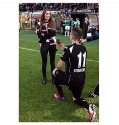 Imagen de proposal, soccer, and cute