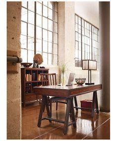 Stanley FurnitureHome Office » Desks & Chairs » Modern CraftsmanColony Floating Drawer Desk