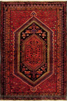 Zanjan Hand Knotted Wool Rug (Size 210 x 151cm)