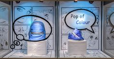 "SENECA FASHION,Toronto, Canada,student project: 'POP OF COLO(U)R"", pinned by Ton van der Veer"
