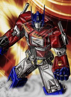 Optimus Prime 1.0 by 1314.deviantart.com on @deviantART