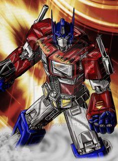 Optimus Prime 1.0 by 1314.deviantart.com on @DeviantArt