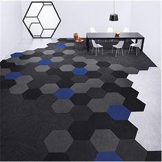 Tretum Shaw textilgolv, Hexagon