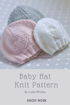 b7a465915 53 Best Knitting Patterns Baby Hats images in 2019 | Baby patterns ...