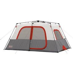 Coleman Max 8-Person Instant Cabin Tent, Multicolor http://camplovers.com/best-cabin-camping-tents/