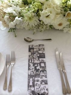 80th birthday party ideas for the table. See more decorating and party ideas at one-stop-party-ideas.com.