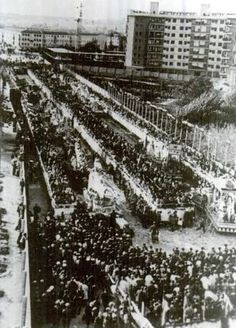 Murcia: la hoye llamada Avenida de la Libretad cuadno no tenía Corte Ingles, Image taken on 1967 at Camilo Alonso Vega avenue.