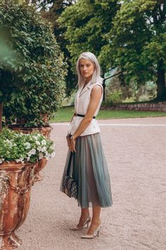 Our First Home: Why Interior Design is My New Favourite Hobby - Inthefrow Grey White Hair, Cool Outfits, Summer Outfits, Dior Beauty, Dior Dress, Smart Outfit, Office Looks, Feminine Style, Style Icons