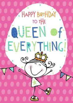 birthday card queen bunting.jpg