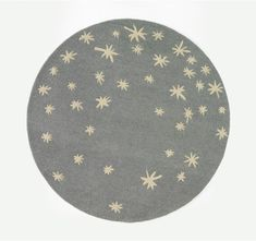 Galaxy Round Rug by DwellStudio