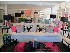 Betsy Johnson Living Room..No? Looks just like it could be