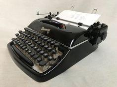 Schreibmaschine Rheinmetall um 1955 portable mechanical typewriter