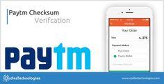 Paytm Checksum Verifcation VISIT:-http://www.oodlestechnologies.com/blogs/Paytm-Checksum-Verifcation  #PAytmchecksum #PaytmOffers #PaytmWebsite #PAytmVerfication