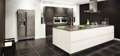 greeploze design keuken met luxe apparatuur