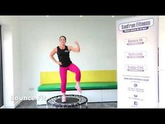 Here is a 30 minute workout on the rebounder. I will have you bopping away to some classic tunes and working up a sweat before you know it. All Body Workout, Tummy Workout, Mini Trampoline Workout, Couch To 5k, Youtube Workout, 30 Minute Workout, Back Exercises, At Home Workouts, Fitness Workouts