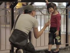 Vídeo alerta para o rapto de crianças de forma inédita