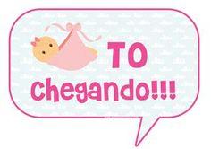 Casinha de Criança: Plaquinhas para Chá de Bebê Grátis