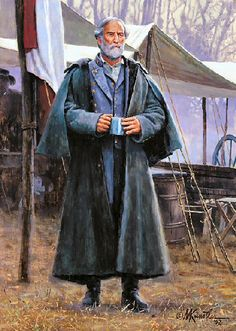 General Robert E Lee painting by Mort Kunstler ...