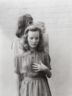 15-year-old Petula Clark in Vogue, 1947. Reminds me of you at about 13.