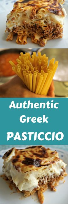 Prepare this Authentic Greek Pasticcio to bring a bit of Greece to your table!