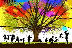 The Best Genealogy Software for Tracing Your Family Tree - Genealogy software can help amateur genealogists trace and organize their ancestry. Family Tree Maker, Free Family Tree, Nature Drawing, Colorful Trees, France, Ancestry, Family History, Tibet, Karma